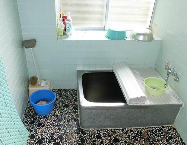 浴室・脱衣・玄関ホールリフォーム   0016